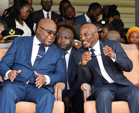 Instability at the top in Congo