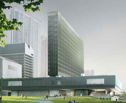 Hong Kong's new cultural centre will be a museum and more